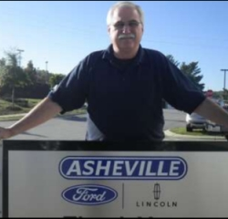 Parts Professional William Blice in Service/Parts at Asheville Ford