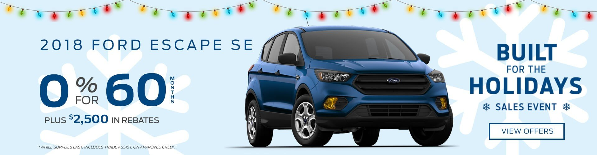 Special offer on 2018 Ford Escape 2018 Ford Escape SE