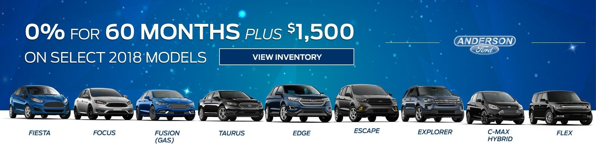 0% for 60 Months Plus $1,500