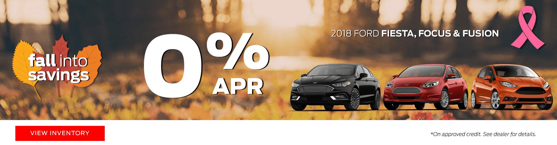 2018 Ford Fiesta, Fusion & Focus