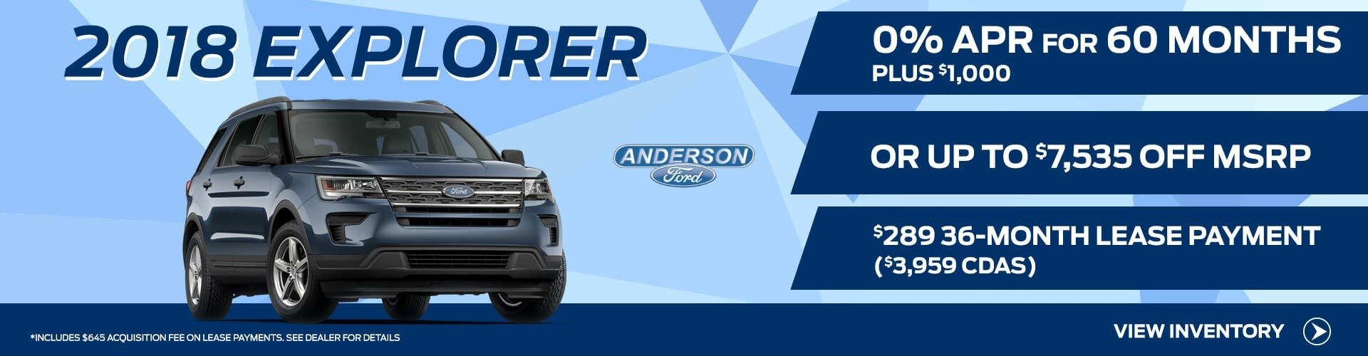 2018 Ford Explorer for Sale