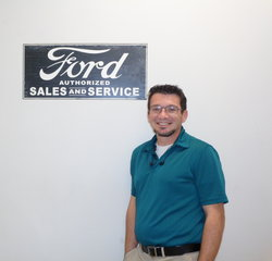 Sales Professional Garrett LaLonde in Sales at Anderson Ford