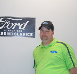 Parts Professional Donnie Zimmerman in Service at Anderson Ford