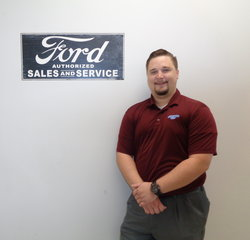 New Car Sales Manager Griffin Carey in Managers at Anderson Ford