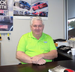 Pre-Owned Manager Tom Brock in Managers at Anderson Ford