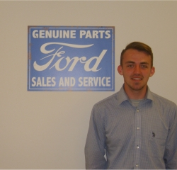 Sales Professional Aaron Bellew in Sales at Anderson Ford
