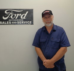 Parts Inventory Jason Herring in Service at Anderson Ford
