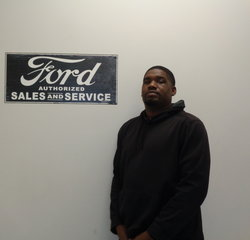 Detail Marshall Bolden in Service at Anderson Ford