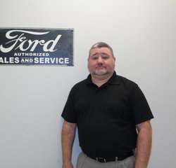 Parts Manager John Stott in Managers at Anderson Ford