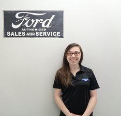 Customer Service Agent Felisha Shipley in BDC at Anderson Ford
