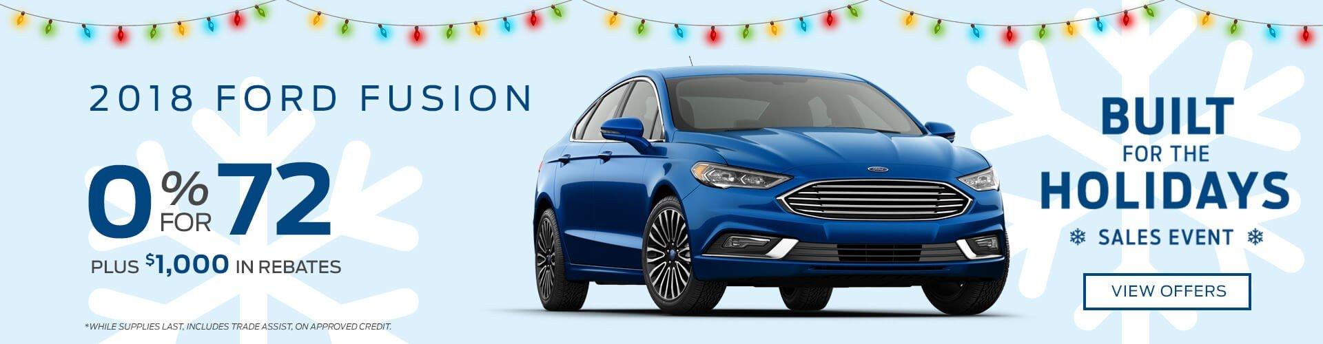 Special offer on 2018 Ford Fusion 2018 Ford Fusion