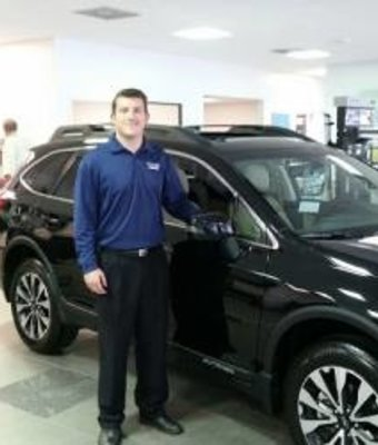 Internet Sales Curtis Ralls in Sales at Stivers Decatur Subaru