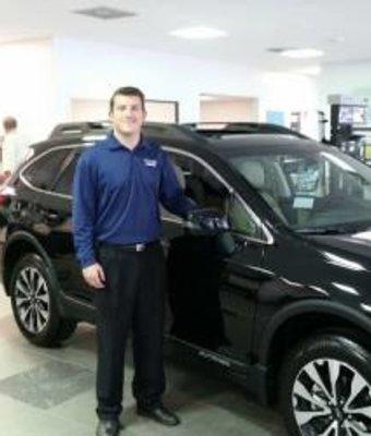 Internet Sales Curtis Ralls in Sales at Stivers Decatur Subaru
