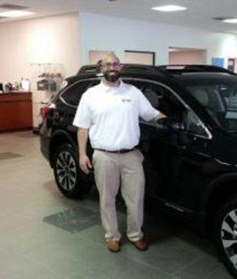 Sales Jon Mead in Sales at Stivers Decatur Subaru
