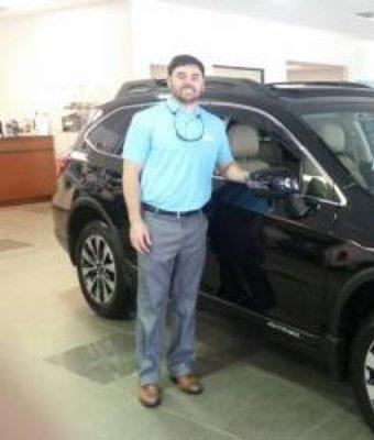 Sales Associate Mike Halligan in Sales at Stivers Decatur Subaru