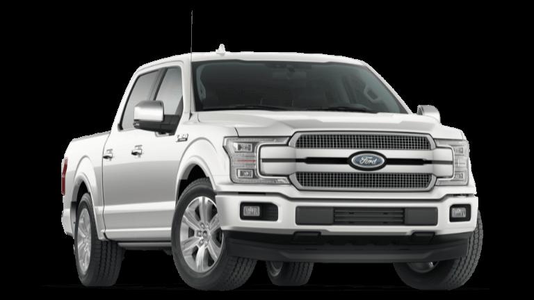2020 Ford F-150 Platinum - White