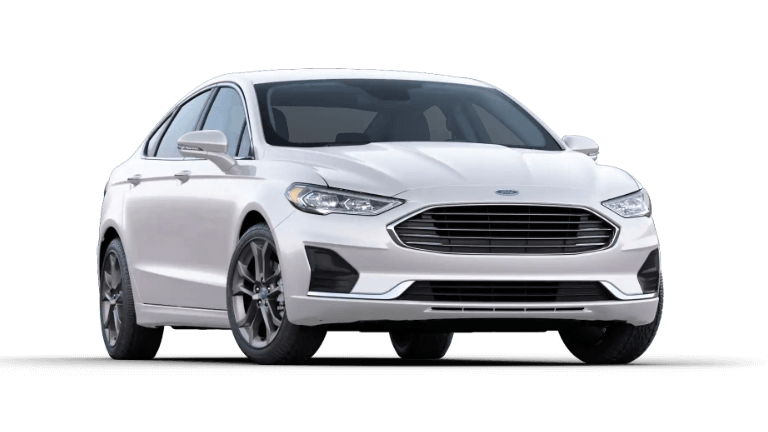 2020 Ford Fusion SEL - Oxford White