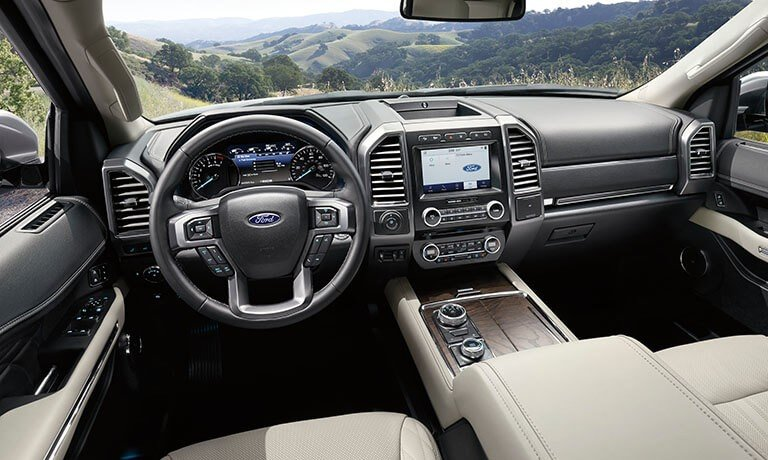 2021 Ford Expedition interior front seats