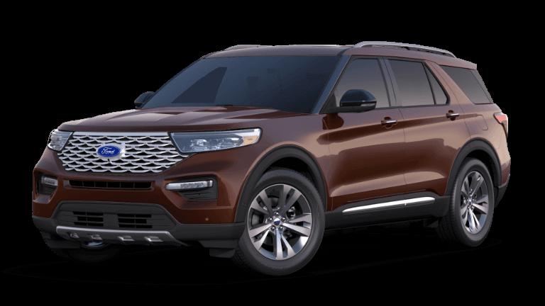 2020 Ford Explorer Platinum - Rich Copper