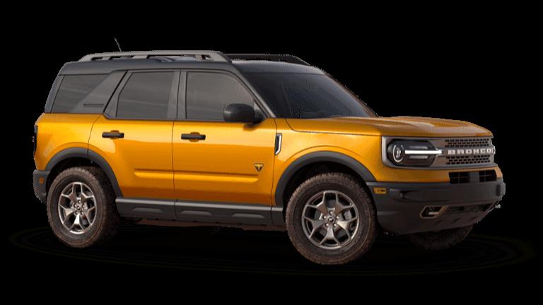2021 Ford Bronco Sport Badlands - Cyber Orange
