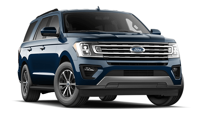 2021 Ford Expedition XLT Antimatter Blue