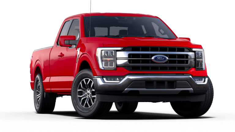 2021 Ford F-150 Lariat - Race Red