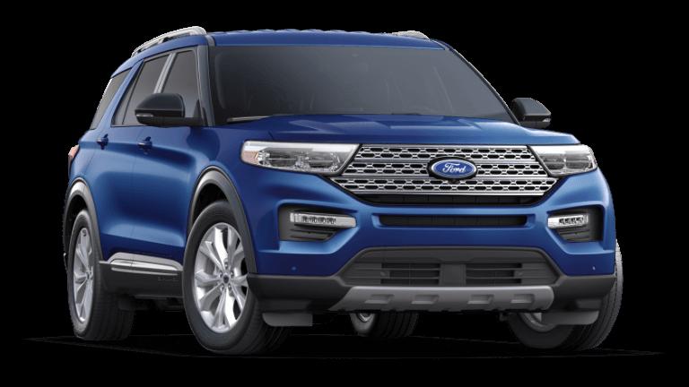 2021 Ford Explorer Limited - Atlas Blue
