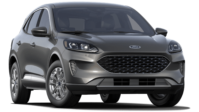2020 Silver Ford Escape SE