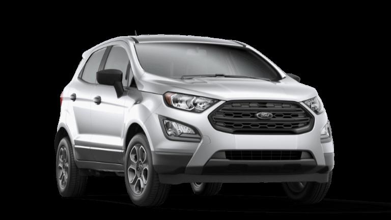 2020 Ford EcoSport S - Moondust Silver