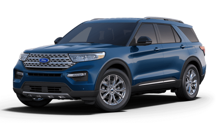 2020 Ford Explorer Limited - Atlas Blue