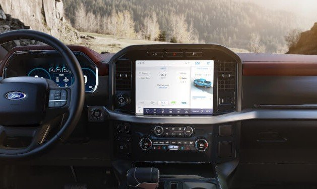 2021 Ford F-150 Leather Interior Dashboard