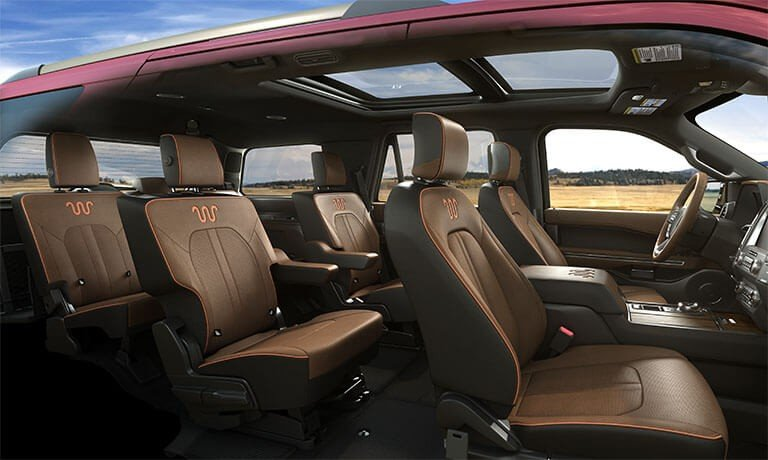 2021 Ford Expedition side view of interior