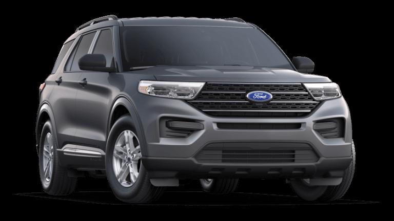 2021 Ford Explorer XLT - Carbonized Gray