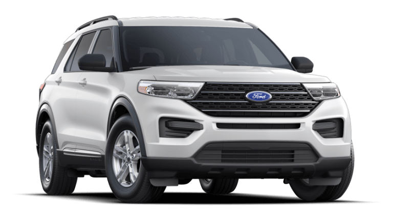 2021 Ford Explorer Oxford White
