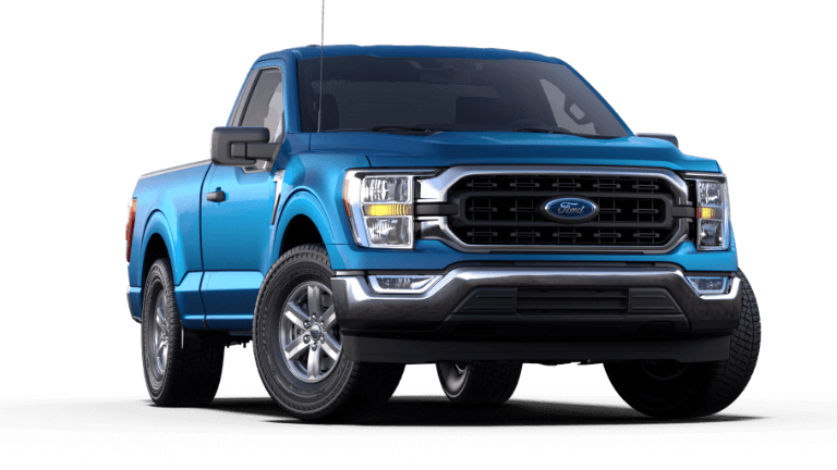 2021 Ford F-150 XLT - Velocity Blue