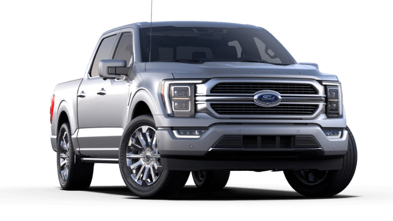 2021 Ford F-150 Limited - Iconic Silver