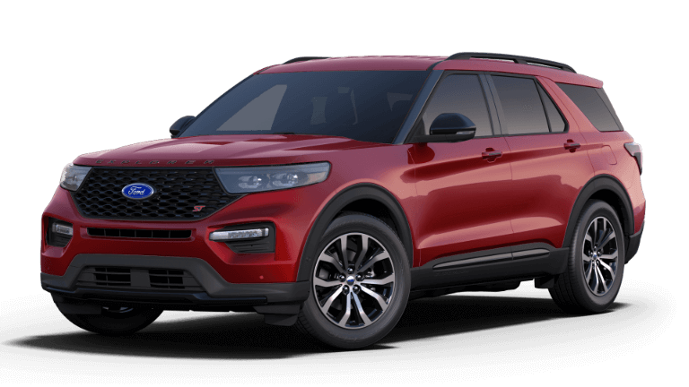 2020 Ford Explorer ST - Rapid Red