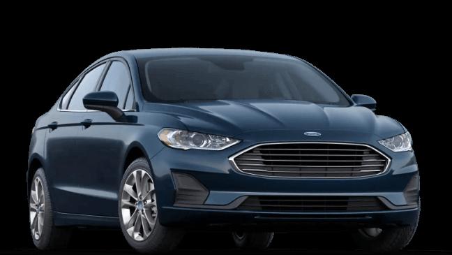 2020  Ford Fusion SE - Alto Blue