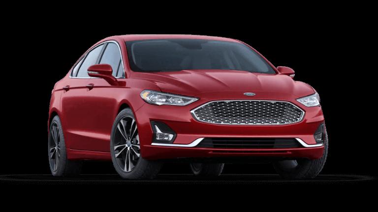 2020 Ford Fusion Titanium - Rapid Red