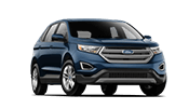 We can finance this blue Ford Edge SUV