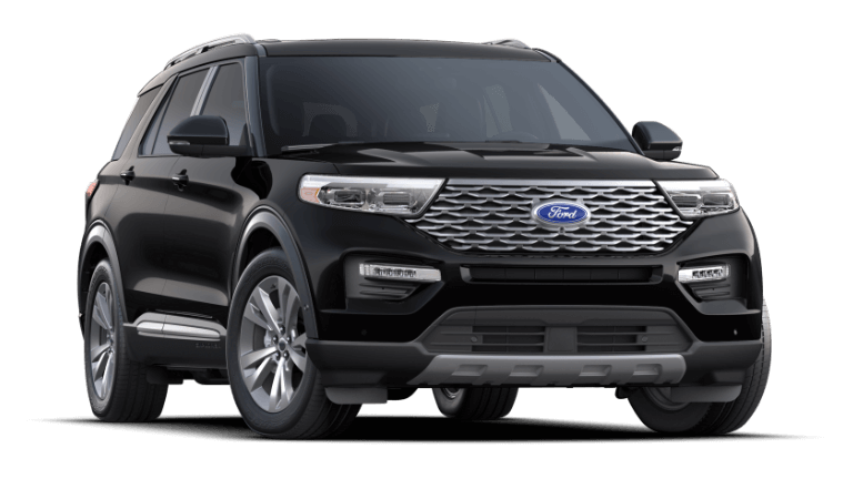 2021 Ford Explorer Platinum - Agate Black