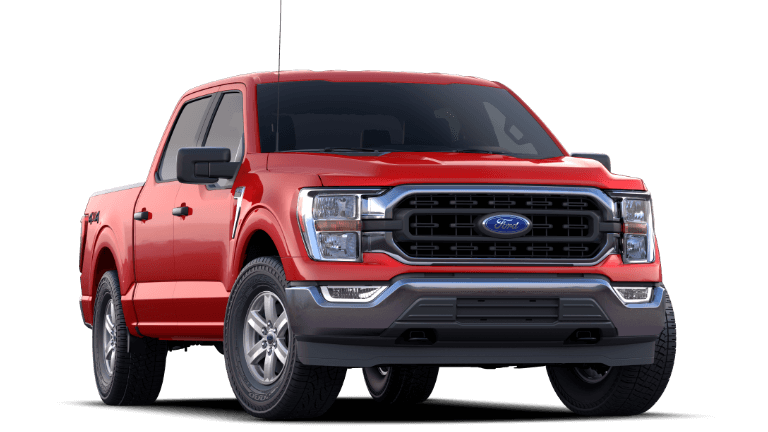 2021 Ford F150 XLT Race Red SuperCrew