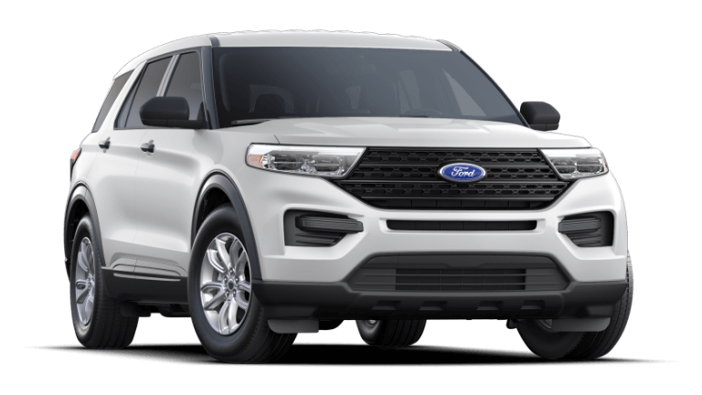 2021 Ford Explorer Base - Oxford White