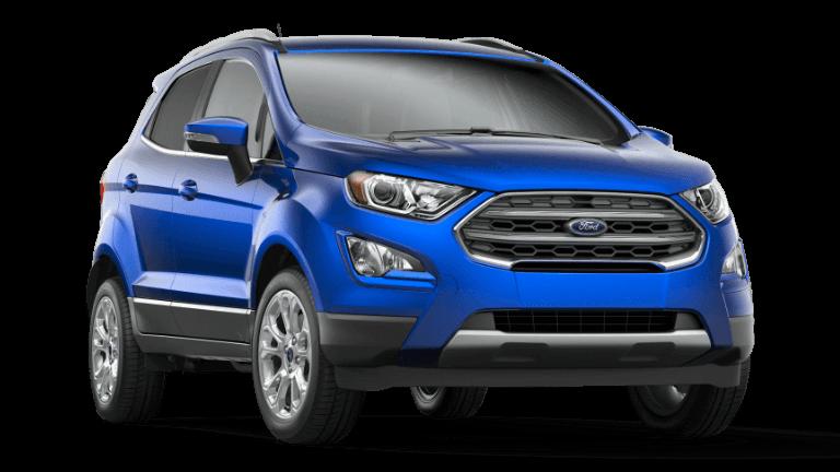 2021 Ford EcoSport Titanium - Lightning Blue