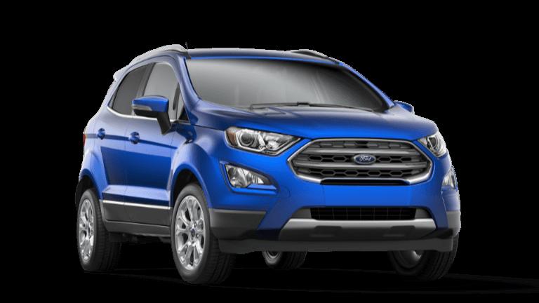 2020 Ford ECoSport Titanium - Light Night Blue