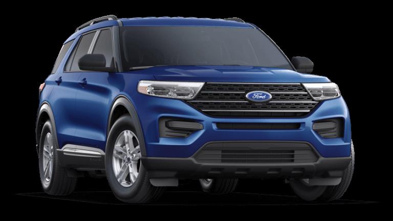 2021 Ford Explorer XLT Atlas Blue