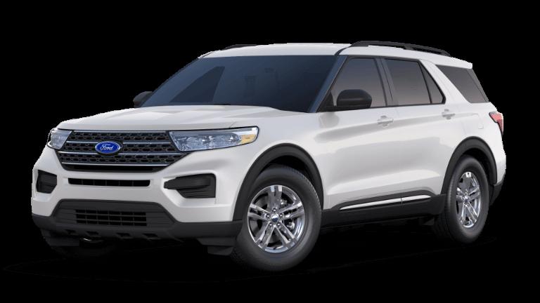 2020 Ford Explorer Base - Oxford White