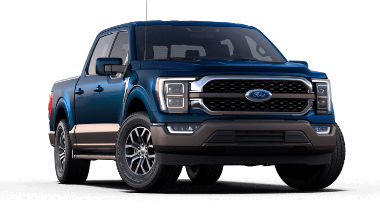 2021 Ford F-150 King Ranch - Antimatter Blue