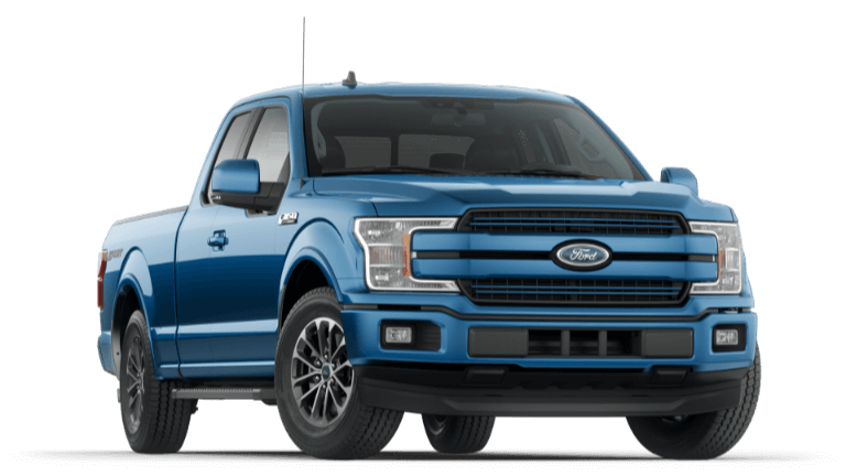 2020 Ford F-150 Lariat - Blue