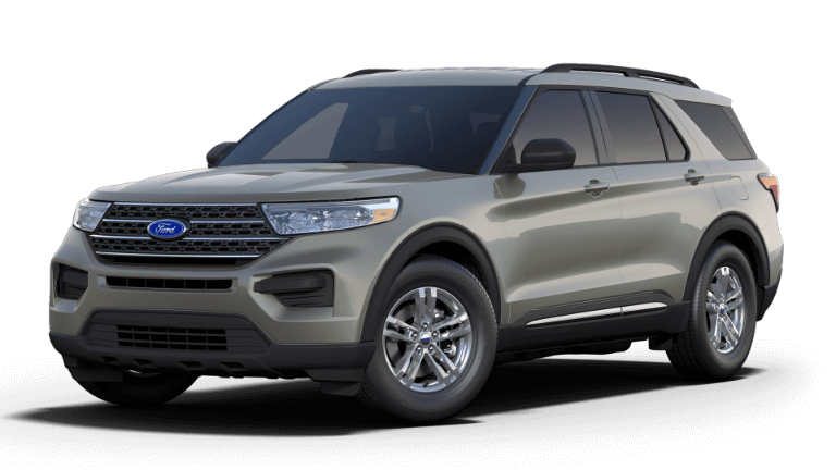 2020 Ford Explorer XLT - Silver Spruce